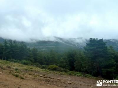 Pico Cebollera, Cebollera Vieja o Pico Tres Provincias; cuevas del aguila sierra norte de sevilla la